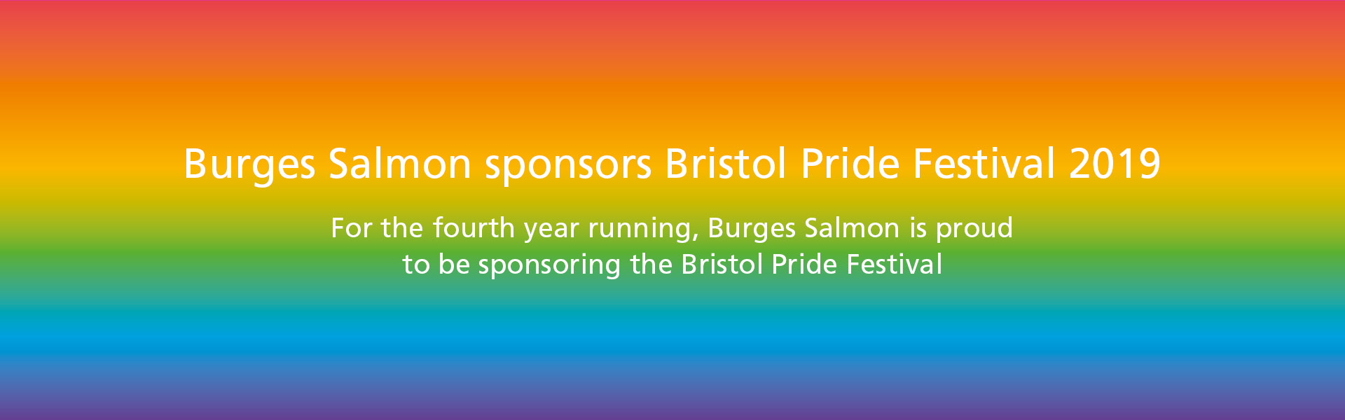 Pride Website Banner with Text