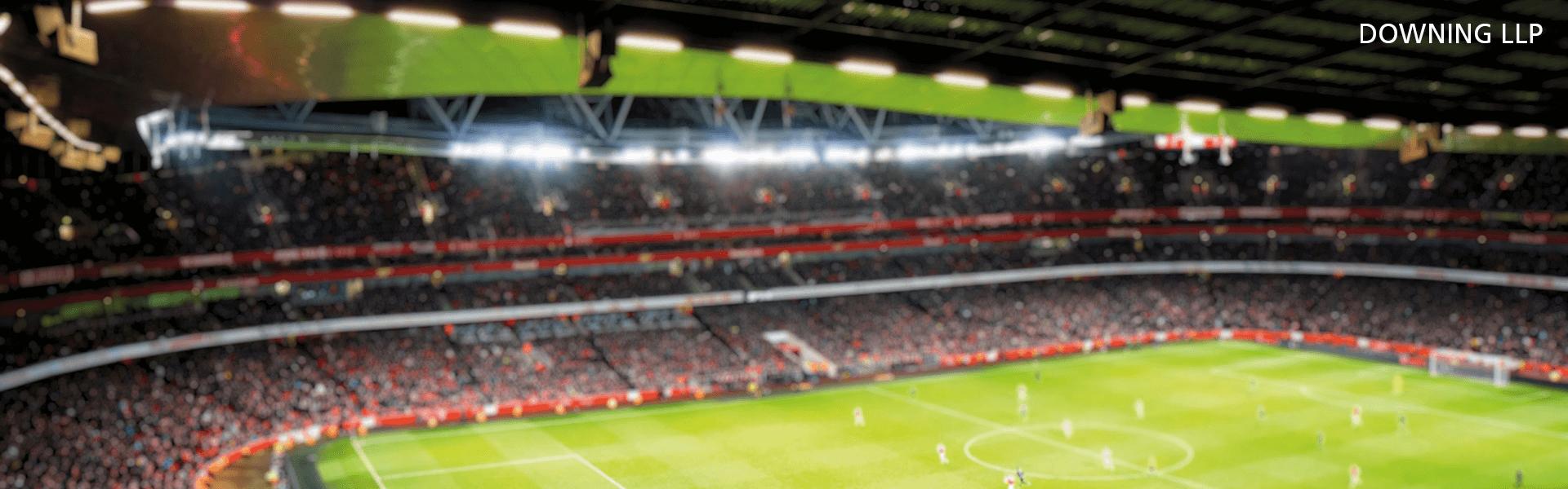 A photo of the Emirates Stadium