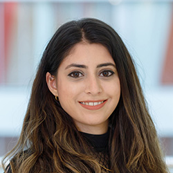 A headshot of Zara Din